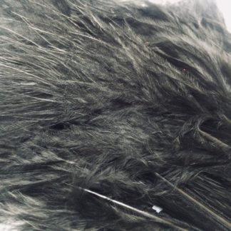 plumes de marabou noir montage streamer