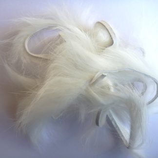 micro rabbit strip blanc