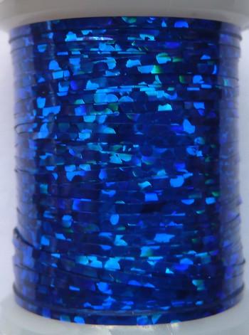 tinsel holographic bleu