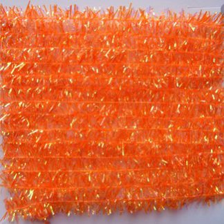 cactus chenille orange fluo