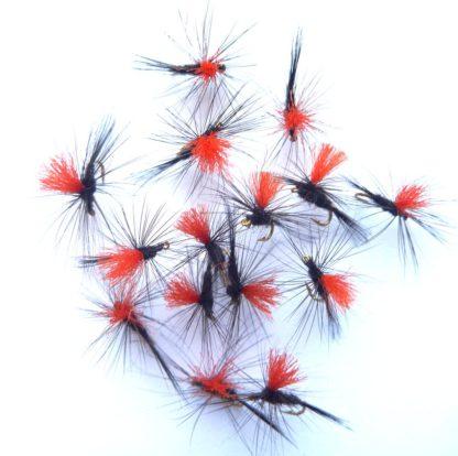 black gnat parachute fluo